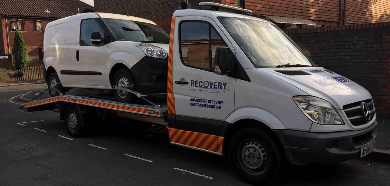 Vehicle recovery in east London